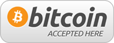 We accept bitcoin payment in Brighton