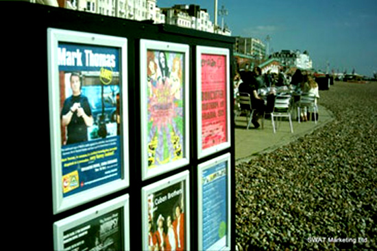 brighton outdoor poster sites